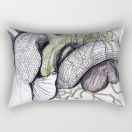 Cerca de la felicidad Rectangular Pillow
