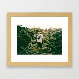 Ligna Framed Art Print