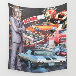 Street Warriors Wall Tapestry