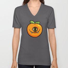 Monster Peach Cyclop Halloween Unisex V-Neck