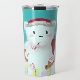 jolly Christmasbear Travel Mug