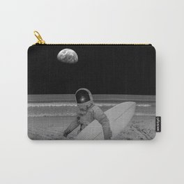 Moon surfer Carry-All Pouch