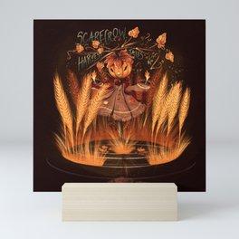 Harvest Tales - Scarecrow Mini Art Print