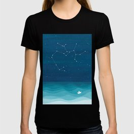 Sagittarius zodiac constellation T-shirt