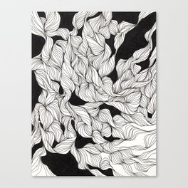 Abstract curlicues Canvas Print
