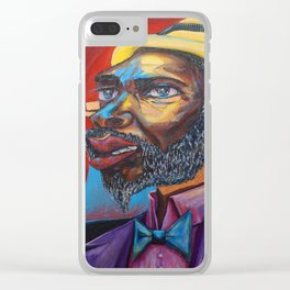 Thelonious Monk Clear iPhone Case