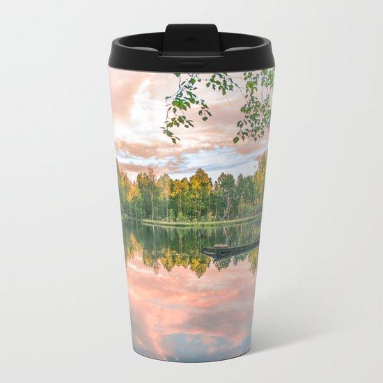 Forest Silence Metal Travel Mug