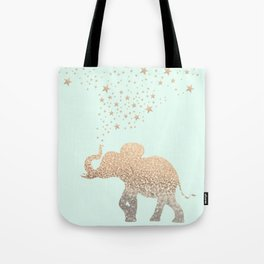 ELEPHANT - GOLD MINT Tote Bag