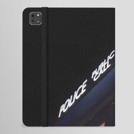 Police call box iPad Folio Case