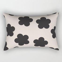 Floral Block Print Rectangular Pillow