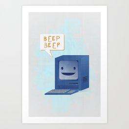 Beep Beep Art Print