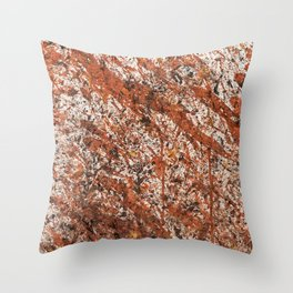 Action Painting 03 Throw Pillow