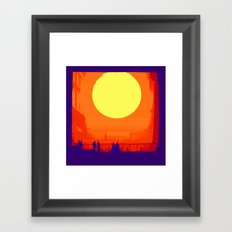 Nothing is new under the sun Framed Art Print