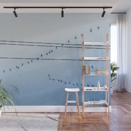 Canadian Geese Wall Mural