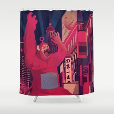 King Po LIVES Shower Curtain