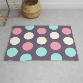 53 Colorful circles - matches 29, 33, 37, 41, 45, 49 patterns Rug