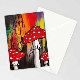 Magic Mushrooms Stationery Cards