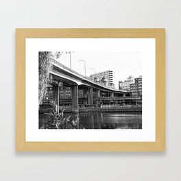 Bridge Barnhusbron 1 Framed Art Print
