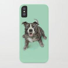 Hug a Staffie Slim Case iPhone X
