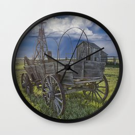Frontier Farm No 235 Wall Clock