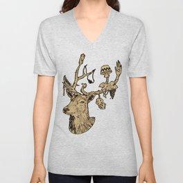 Dear Deer Unisex V-Neck