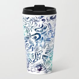 Brunkos first art Metal Travel Mug