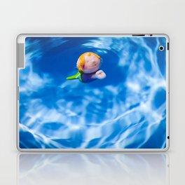 Mermaid in the pool Laptop & iPad Skin