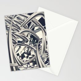 Mettalic Stationery Cards