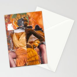 Hybridity, Race and Womanhood: Selves (Detail 5) Stationery Cards
