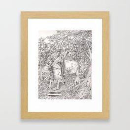 Faerie Assistance Framed Art Print