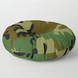 Camouflage Floor Pillow