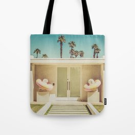 PoolSide Palm Springs Photography Tote Bag