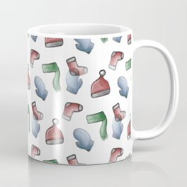 Christmas Winter Clothing Coffee Mug