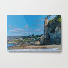 Sunny Day at Victoria Beach Metal Print