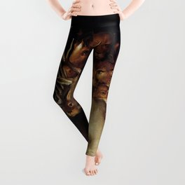 "Giuseppe Arcimboldo ""Four elements - Earth"" Leggings"