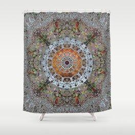 Worship With Intent Of Madeleine Shower Curtain