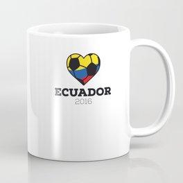 Ecuador Soccer Shirt 2016 Coffee Mug