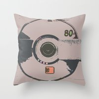 house md Throw Pillows featuring RIP MD by colourpie