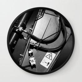 Arm of Power Industrial Hydraulic Digger System Wall Clock