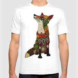 fox love off white T-shirt