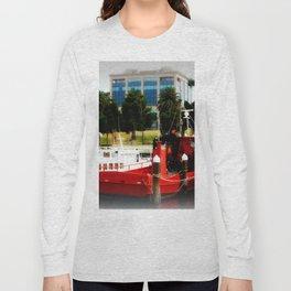 Little red tug Boat Long Sleeve T-shirt