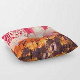 Below Deck Floor Pillow