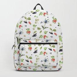 rosehip, chokeberries and teasel II Backpack