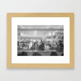 Supermarket Framed Art Print