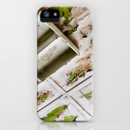 A Peeling Ceiling iPhone Case