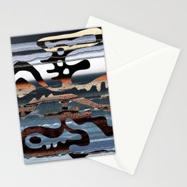 buried symbol Stationery Cards