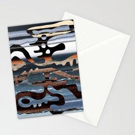 buried symbol Stationery Cards