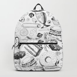 Delicious pattern Backpack