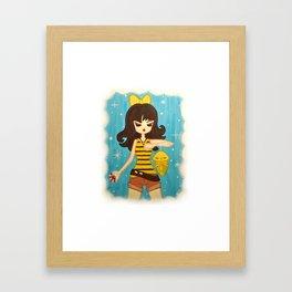 Kakuna Trainer Framed Art Print