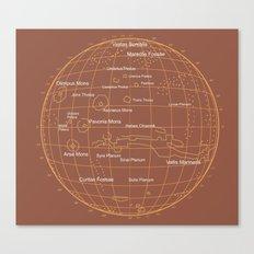 Mars 1 Canvas Print